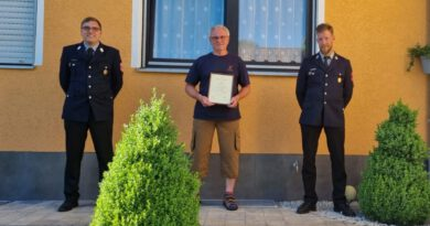 Verdienter Kamerad geht in den Feuerwehr-Ruhestand